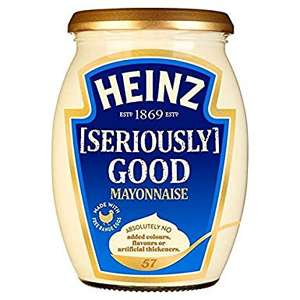 Heinz Seriously Good Mayonnaise - 680g jar - FarmFoods In-store - £1