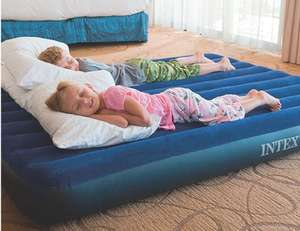 Intex Inflatable bed Standard Double £8.95 for Prime (+£4.49 Non Prime) @ Amazon