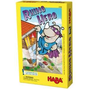 Rhino Hero Card Game - £8.09 Delivered @ 365games