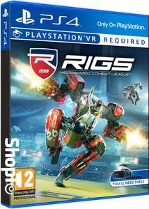 RIGS Mechanized Combat League (PS4/VR) £7.85 / StarBlood Arena (PS4/VR) £8.85 Delivered @ Shopto