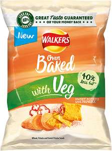 NEW Walkers Baked Sweet Potato and Paprika / Beetroot and Sweet Chilli Jam - £1 @ Sainsbury's (Instore & Online)
