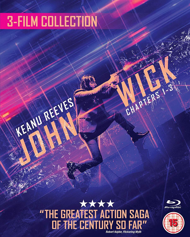 John Wick 1/2/3 Triple Boxset Blu-ray £21.99 @ Amazon