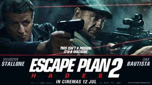 Escape Plan 2 £1.99 @ iTunes