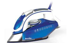 Breville PressXpress Steam Iron - £21.99 (With Code) @ Groupon (+£1.99 P&P)