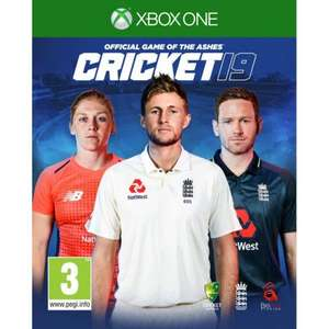 CRICKET 19 (Xbox One) The Official Game Ashes Championship/(PS4 INTERNATIONAL EDITION) for £28.45 Delivered With Code @ The Game Collection