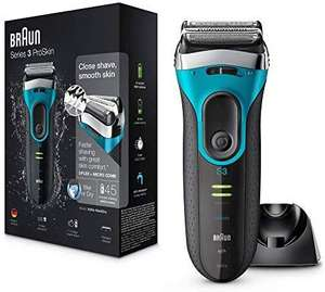 Braun Series 3 ProSkin 3080s Electric Shaver, Wet and Dry Electric Razor for Men with Pop Up Precision Trimmer and Shaver - £49.99 @ Amazon