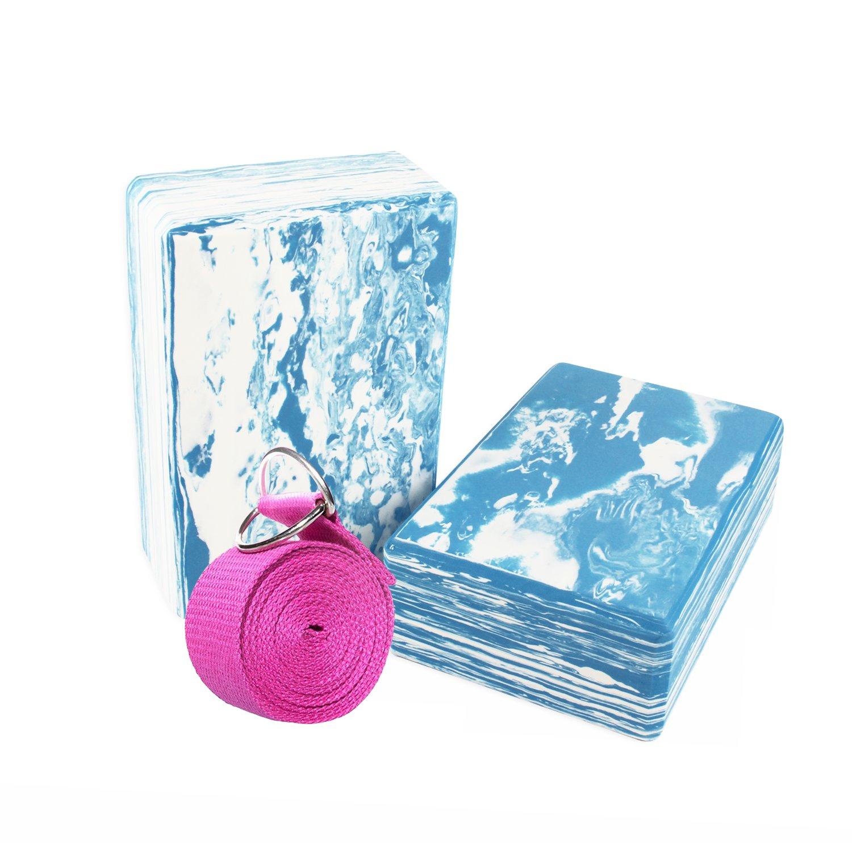 Yoport High Density Eva Foam Yoga Block x 2 and Strap now £5.76 add-on item at Amazon