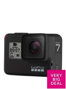 GoPro HERO 7 Action Camera - Black - £322 / £272 with new account holder discount code @ Very (C&C)