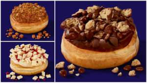 Asda Extra Special Caramel, White Chocolate & Raspberry, and Chocolate 2 Pack of Donuts £1.50 at Asda