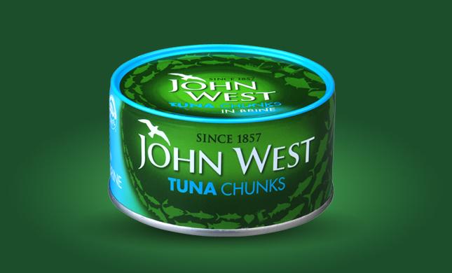 John West Tuna in Brine 6x145G - £4.25 instore at Sainsbury's