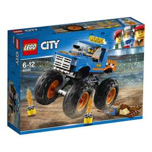 LEGO 60180 City Great Vehicles Monster Truck now £9.75 (Prime) + £4.49 (non Prime) at Amazon