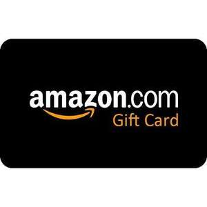 £6 credit with £50 gift card purchase @ Amazon