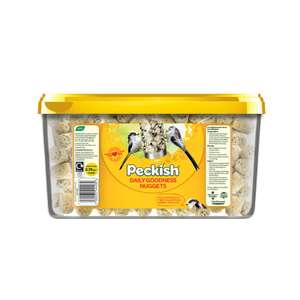 Peckish Daily Goodness Suet Nurturing Nuggets For Wild Birds - 2.75kg - £3.50 @ Homebase (instore)