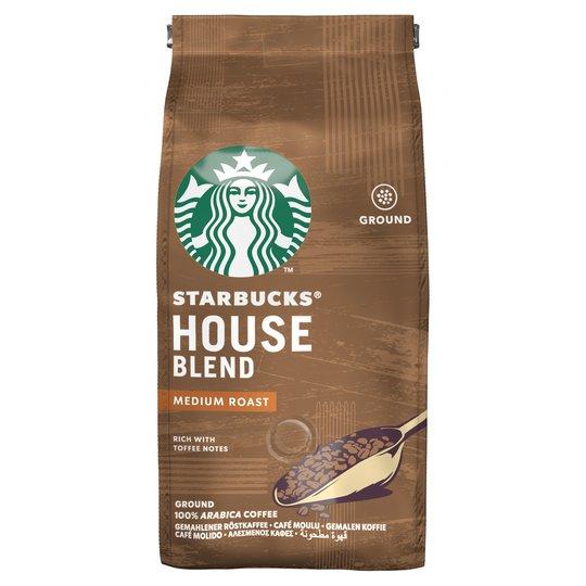 Starbucks House Blend Ground Coffee 200G £2.75 @ Tesco