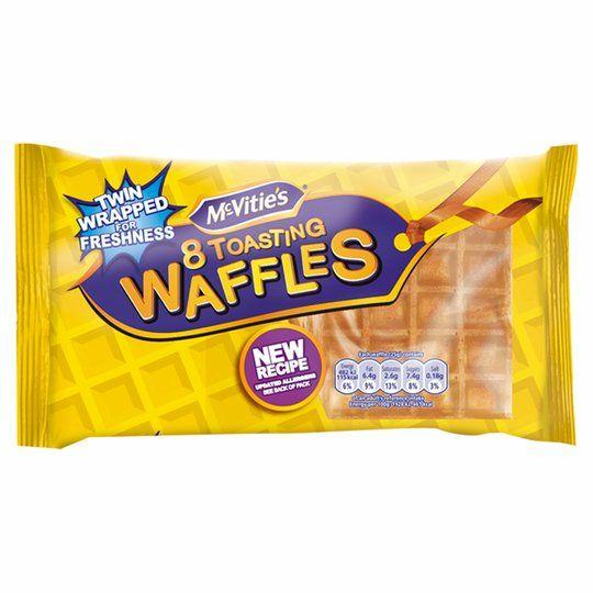 Mcvities Toasting Waffles 8 Pack - £1 @ Tesco