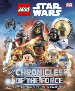LEGO® Star WarsTM Chronicles of the Force: With Exclusive Minifigure Hardcover now £3 (Prime) + £4.49 (non Prime) at Amazon