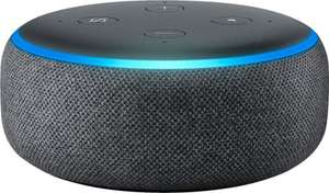 Amazon Echo Dot (3rd gen) + 10 bottles of bleach + 1 chocolate packet £16.49 via Amazon Prime Now (new  customers)