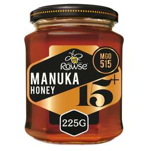 Rowse Manuka Honey 15+ and 10+ reduced in Asda - £4.97
