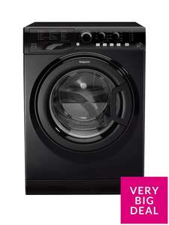 HotpointFML842K 8kg Load, 1400 Spin Washing Machine - Black @ Very  £219.99