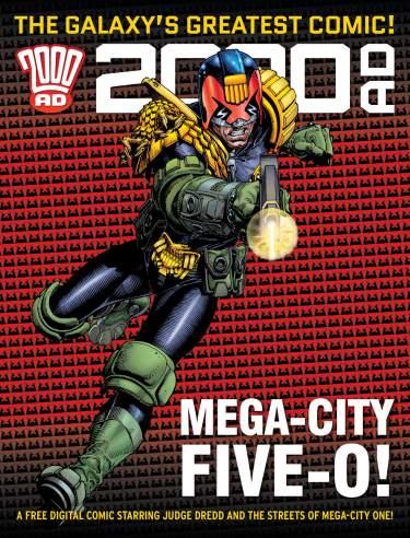 Free Judge Dredd and 2000AD digital comics (PDF) @ 200AD Shop