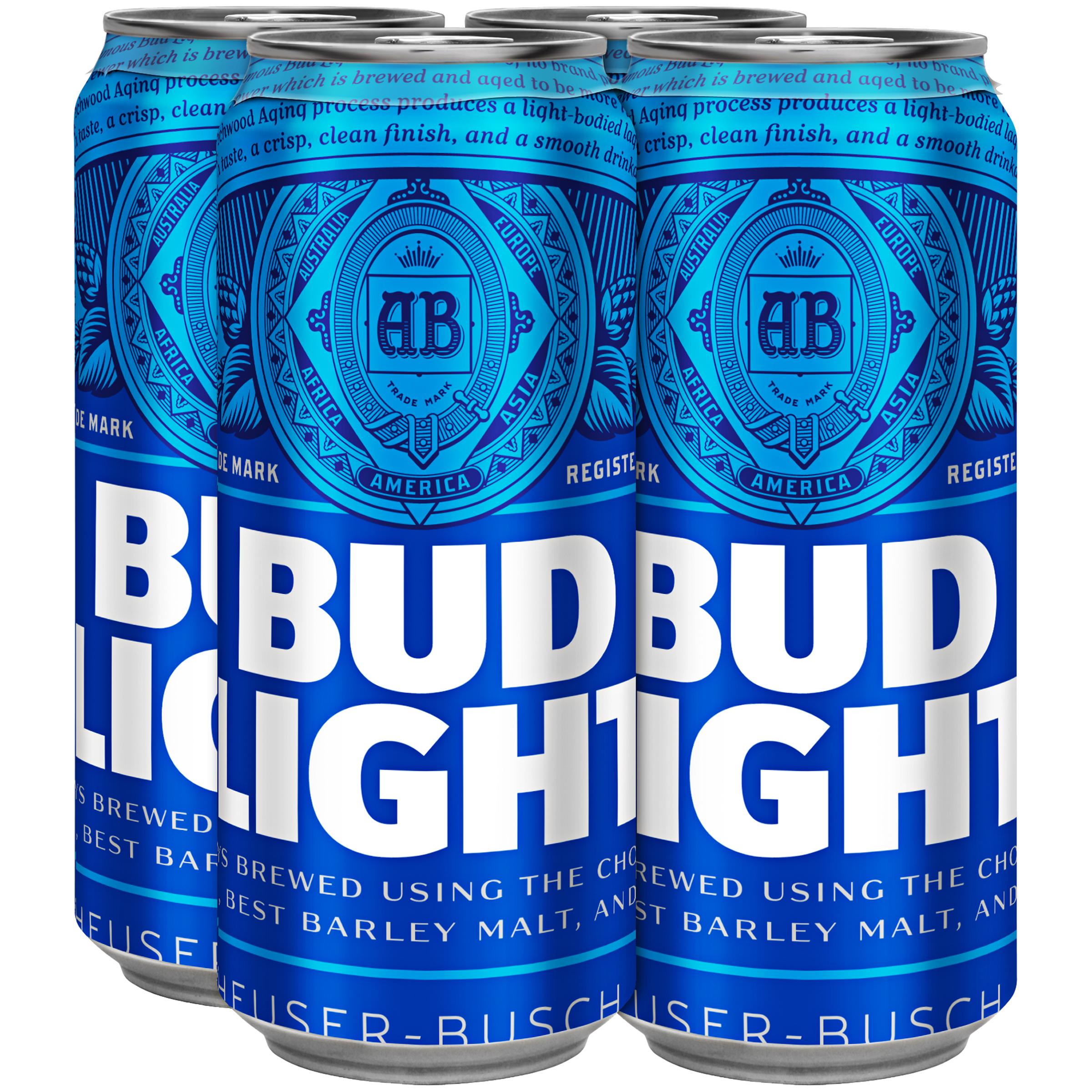Bud Light 4 pack £2.50 at Nisa Gateshead