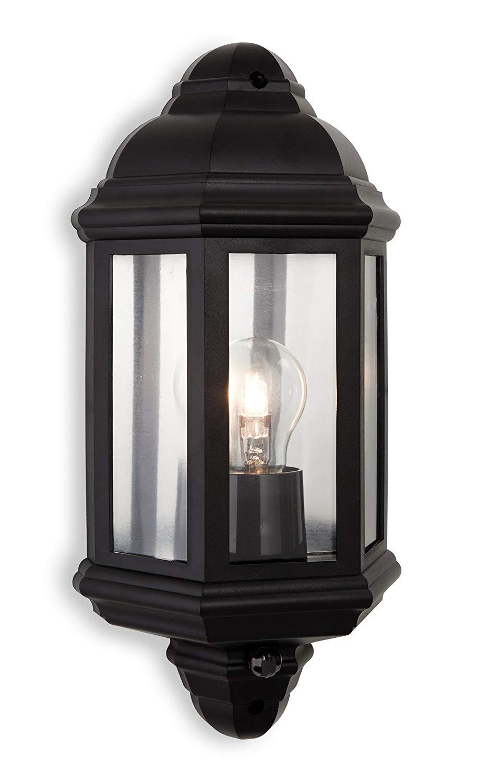 Firstlight E27 Edison Screw 42 Watt Park Polycarbonate Wall Light with PIR now £11.75 (Prime) + £4.49 (non Prime) at Amazon