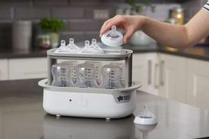 Tommee Tippee Super Steam Advanced Electric Steriliser now £29.49 delivered at Amazon