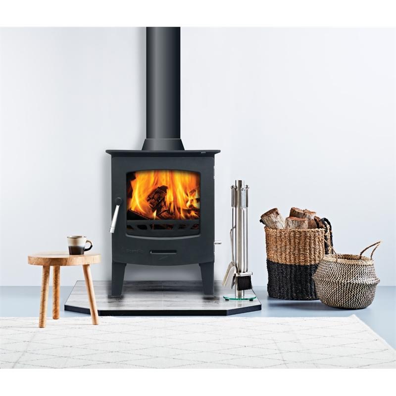 Scandia Exuro 5 Stove £118.50 @ Homebase (Cheap wood burning stove)