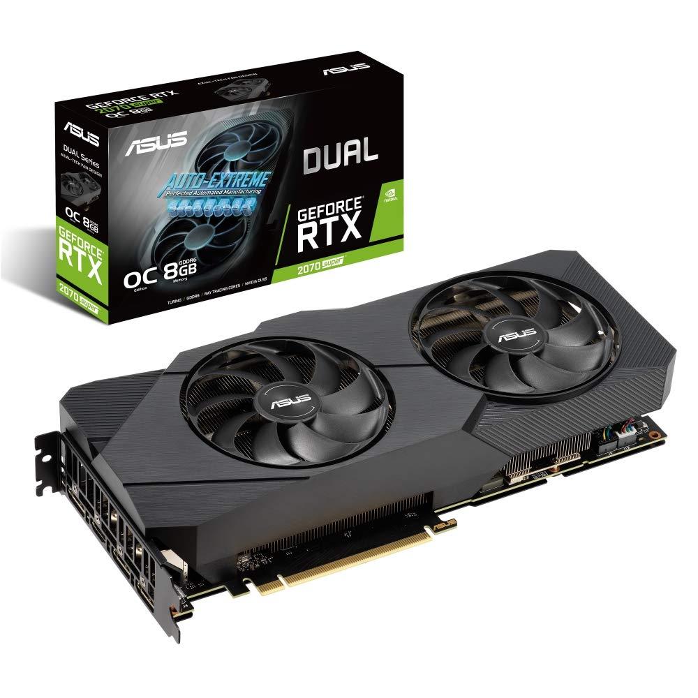 Asus Nvidia RTX2070S Dual O8G EVO 8G Fan GDDR6 DP/HDMI PCI Express Graphics Card - £475 @ Amazon