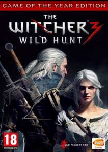 [GOG] The Witcher 3: Wild Hunt Game Of The Year Edition PC £8.99 @ CDKeys
