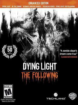 [Steam] Dying Light: The Following Enhanced Edition PC - £8.99 @ CDKeys
