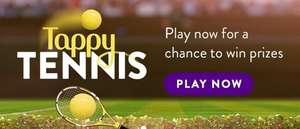 Play Tappy Tennis for Free Food and Drinks at Toby Carvery on Toby Carvery App