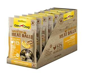 GimDog Superfood Meat Balls Chicken with Banana and Sesame Seeds - £2.01 at Amazon Add-on