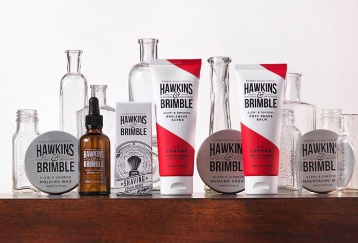 Hawkins & Brimble men's toiletries on offer at Sainsbury's