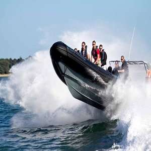 90 Minute Extreme RIB Powerboating in Southampton £17.50 with code @ Red Letter Days