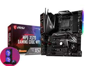 MSI MPG X570 GAMING EDGE WIFI AMD Motherboard for 2nd & 3rd Gen AMD Ryzen cpus(claim a free Cooler Master MasterLiquid ML240L) @ CCL Online
