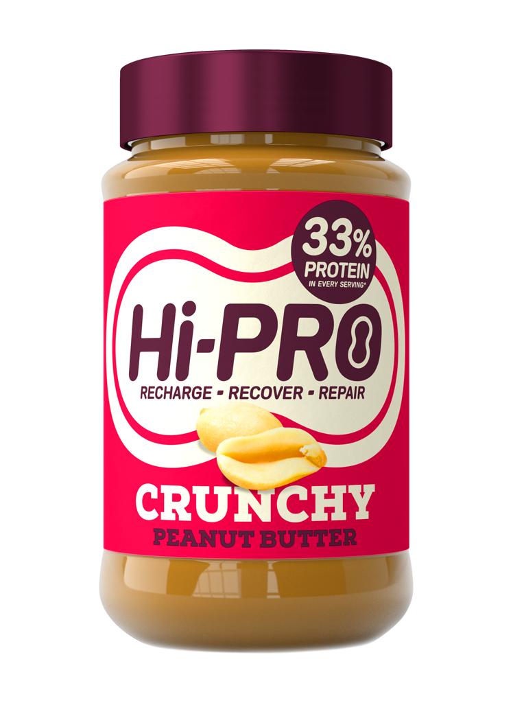 Hi-pro Crunchy Peanut Butter 454g £1 instore @ Fulton Foods
