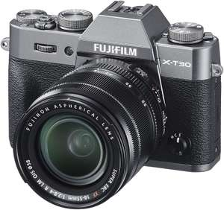 Fujifilm X-T30 with XF 18-55 lens - Charcoal Silver £1075.64 @ Amazon