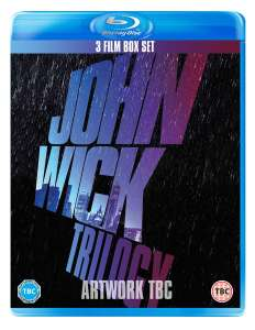 [Blu-Ray] John Wick Trilogy (Box Set) £19.79 with New Account Code delivered @ Zoom