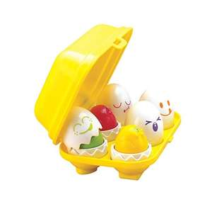 TOMY Toomies Hide and Squeak Eggs - £5.99 at Amazon (+£4.49 non Prime)