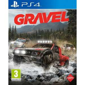 Gravel PS4 £6.60 with code delivered @ The Game Collection