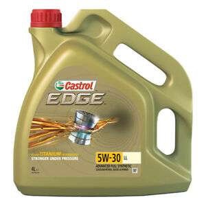 Castrol Edge Longlife 4L Engine Oil 4 Litres 5W30 Fully Synthetic -  £24.99 Delivered @ eBay - Eurocarparts
