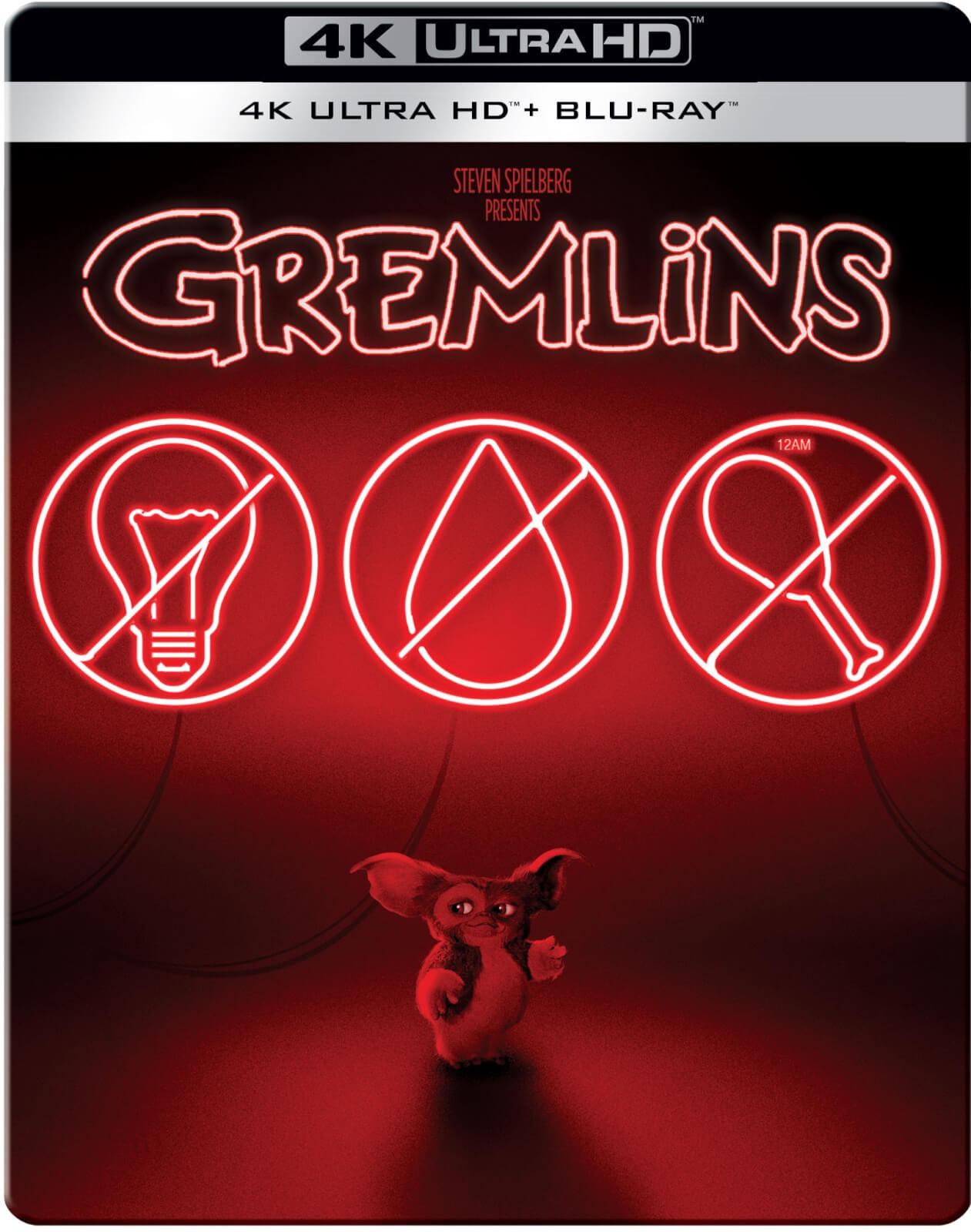 Gremlins - 4K Ultra HD (Includes 2D Blu-ray) Zavvi Exclusive Steelbook - Preorder £24.99 @ Zavvi