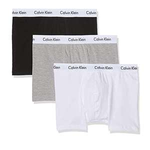 Calvin Klein Large Men's Pack of 3 Cotton Stretch Trunk @ Amazon £19.84 + £4.49 delivery Non Prime (Medium £20.56)
