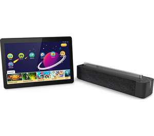 """Lenovo Tab M10 Tablet Bundle, Android, 10.1"""" HD, Slate Black and Smart Dock £130 at Currys"""
