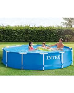 Intex 12ft Metal Frame Pool - In store and online at Aldi (Instore price is £89.99).