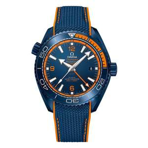 Omega Seamaster Planet Ocean Co-Axial Master Chronometer Automatic Men's Watch - £5,440 @ Beaverbrooks