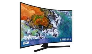 Samsung 55NU7500 55 Inch 4K UHD Curved Smart TV with HDR - £499 @ Argos