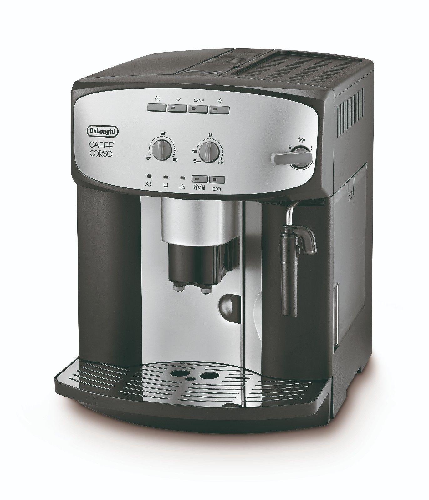 De'Longhi Cafe Corso ESAM2800 Bean to Cup Coffee Machine - Refurb £134.39 / De'Longhi ESAM2600 Refurb £134.39 w/code @ delonghiuk ebay