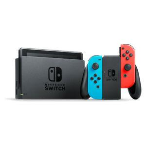 Nintendo Switch 32GB Grey Console (with Neon Red/Neon Blue Joy-Controller) Refurb - £195.99 @ musicmagpie Ebay